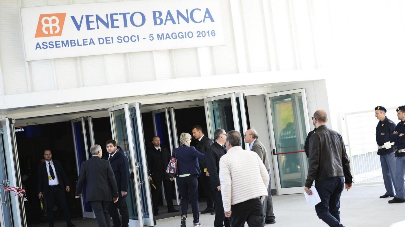 FOTO Veneto Banca, Zanetti: Chiariscano o lascio come cliente