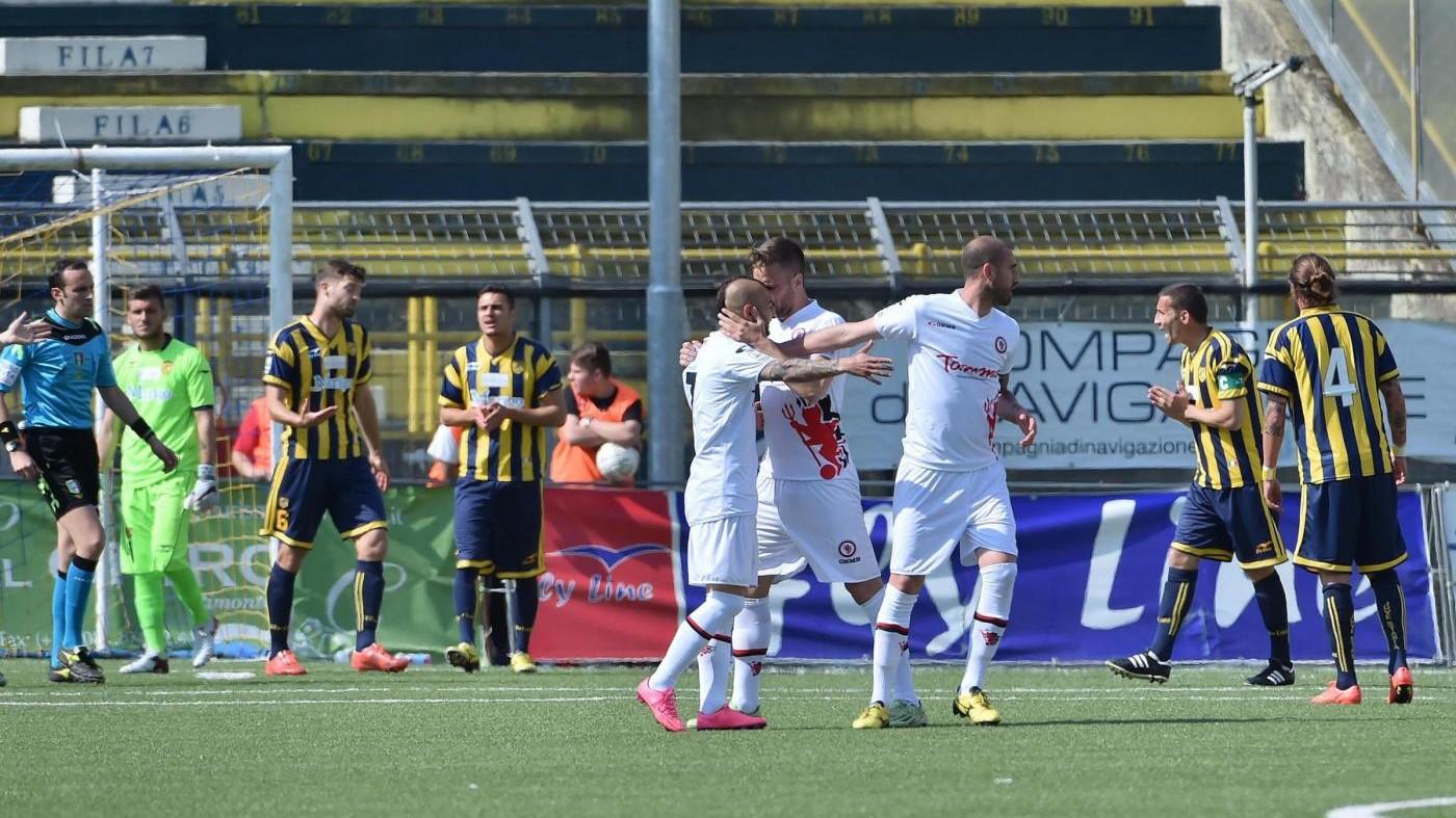 FOTO Juve Stabia perde in casa 3-1 con il Foggia