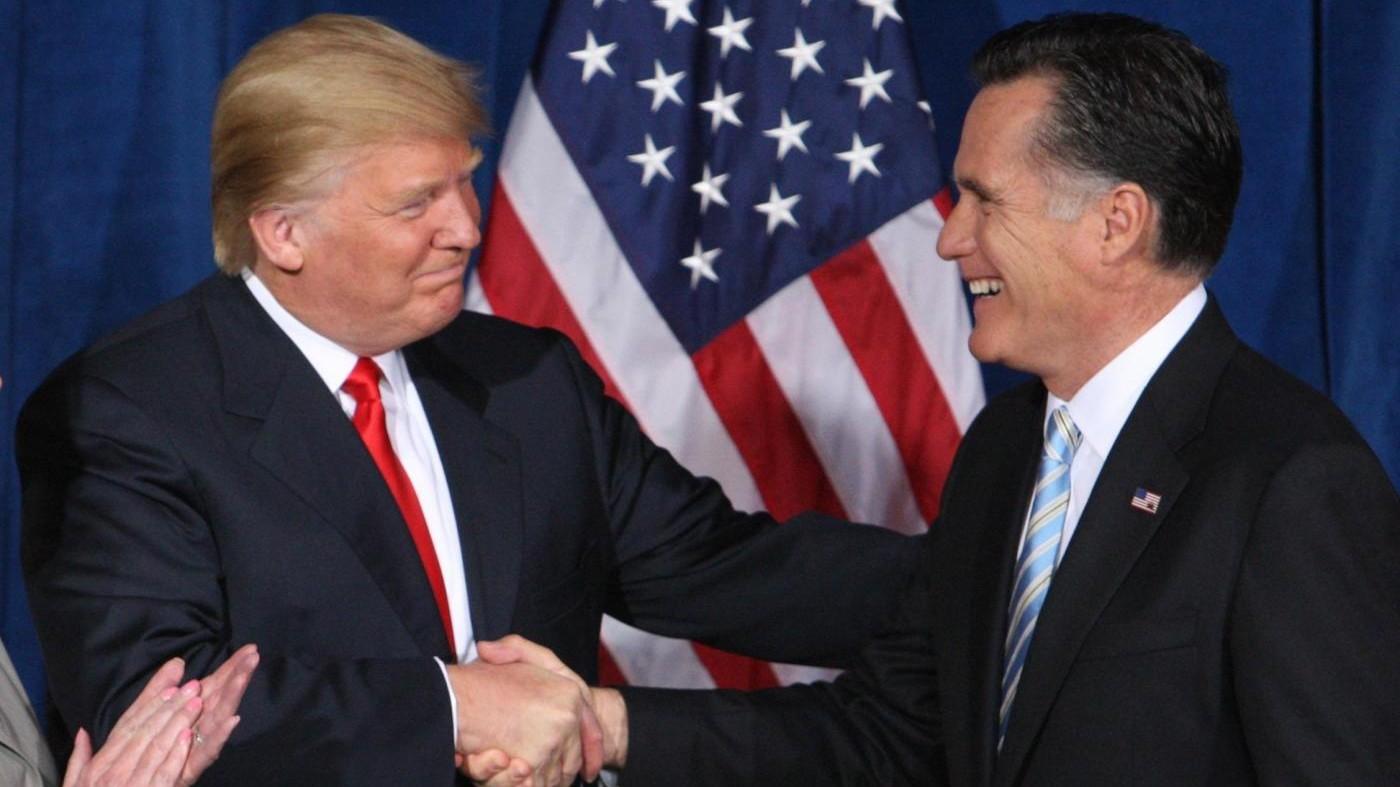 Trump riceve Romney: Incontro è andato alla grande