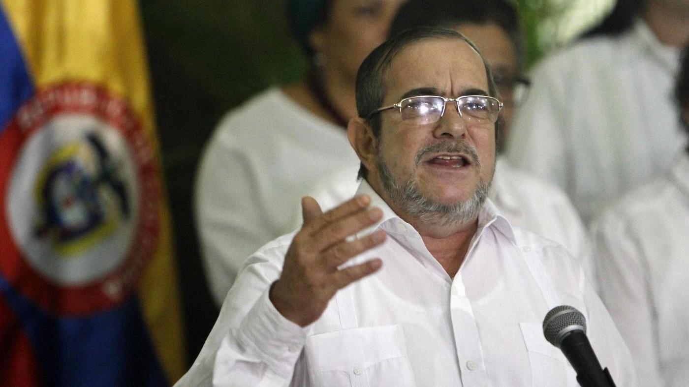 Leader delle Farc a Bogotà per firmare nuovo accordo di pace