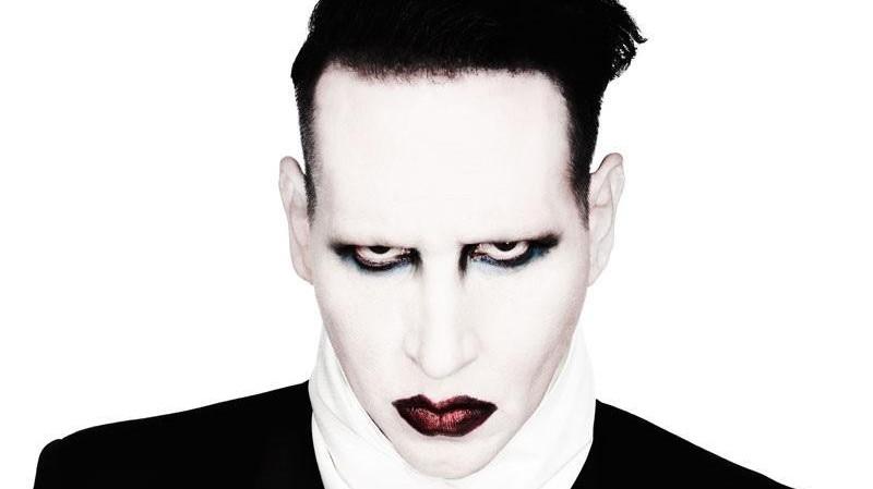 Marilyn Manson live al Postepay Sound Rock in Roma