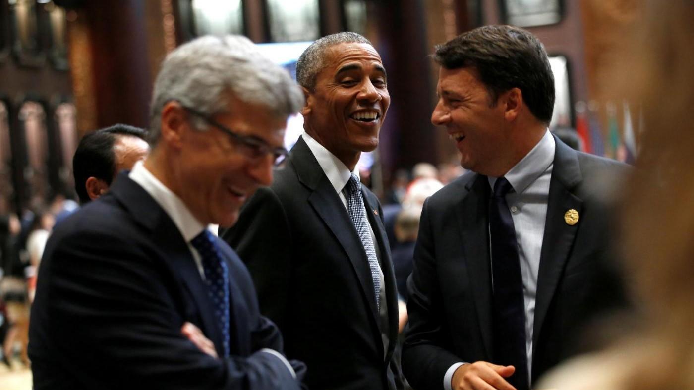 Obama accoglie Renzi: Sui migranti Italia in prima linea