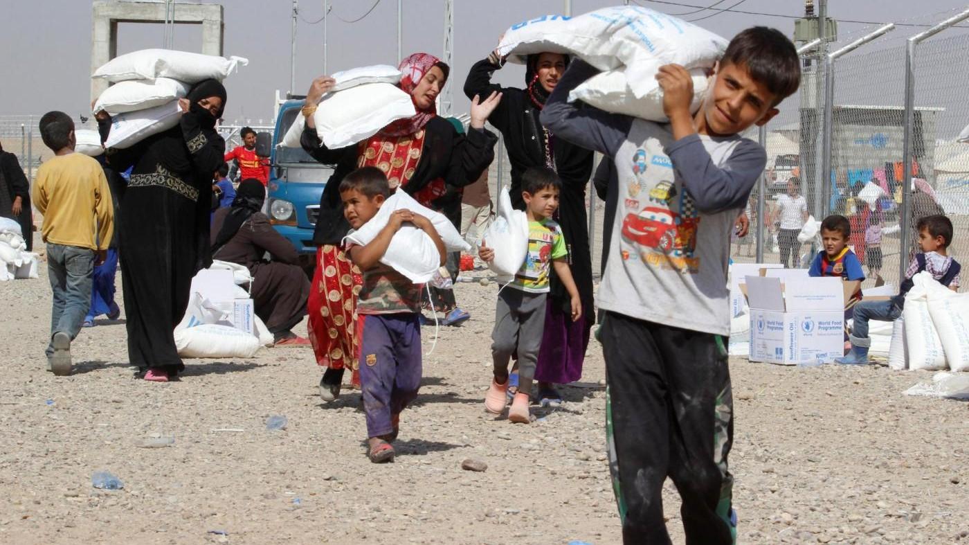 Iraq, Unicef: Mezzo milione di bambini in pericolo a Mosul