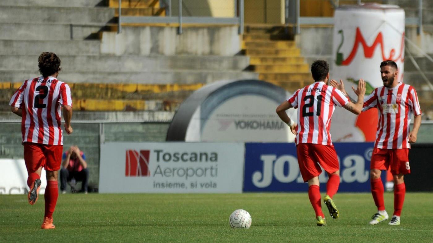 FOTO- Lega Pro, Pisa-Maceratese 3-1, toscani in semifinale