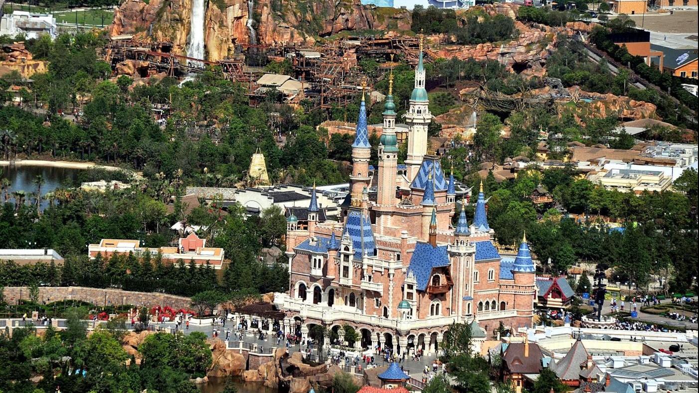 FOTO Disneyland sbarca per la prima volta in Cina