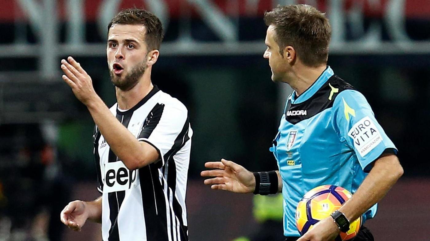 Arbitro Rizzoli: Gol Pjanic? Errori si percepiscono a fine gara