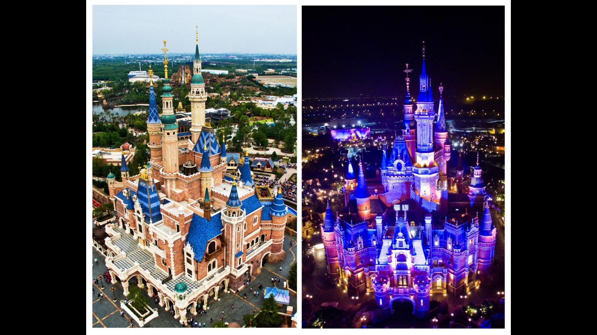 FOTO Disneyland a Shanghai: prova luci in vista dell'apertura