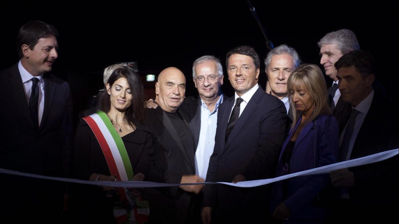 Roma, inaugurata la Nuvola di Fuksas. Raggi contestata