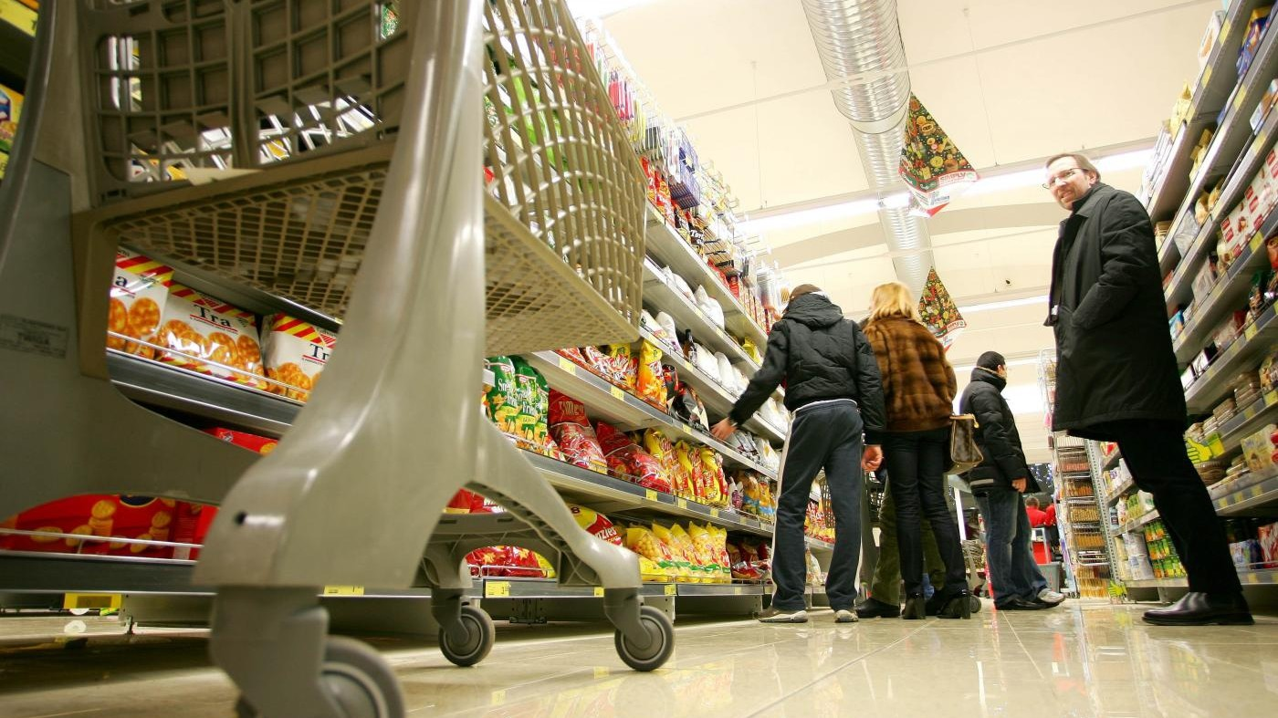 Torna la deflazione in Italia: prezzi -0,1% a ottobre