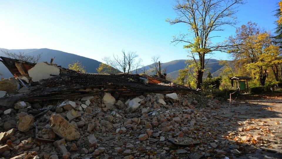 Terremoto, il radar mostra deformazione suolo per 130km quadrati