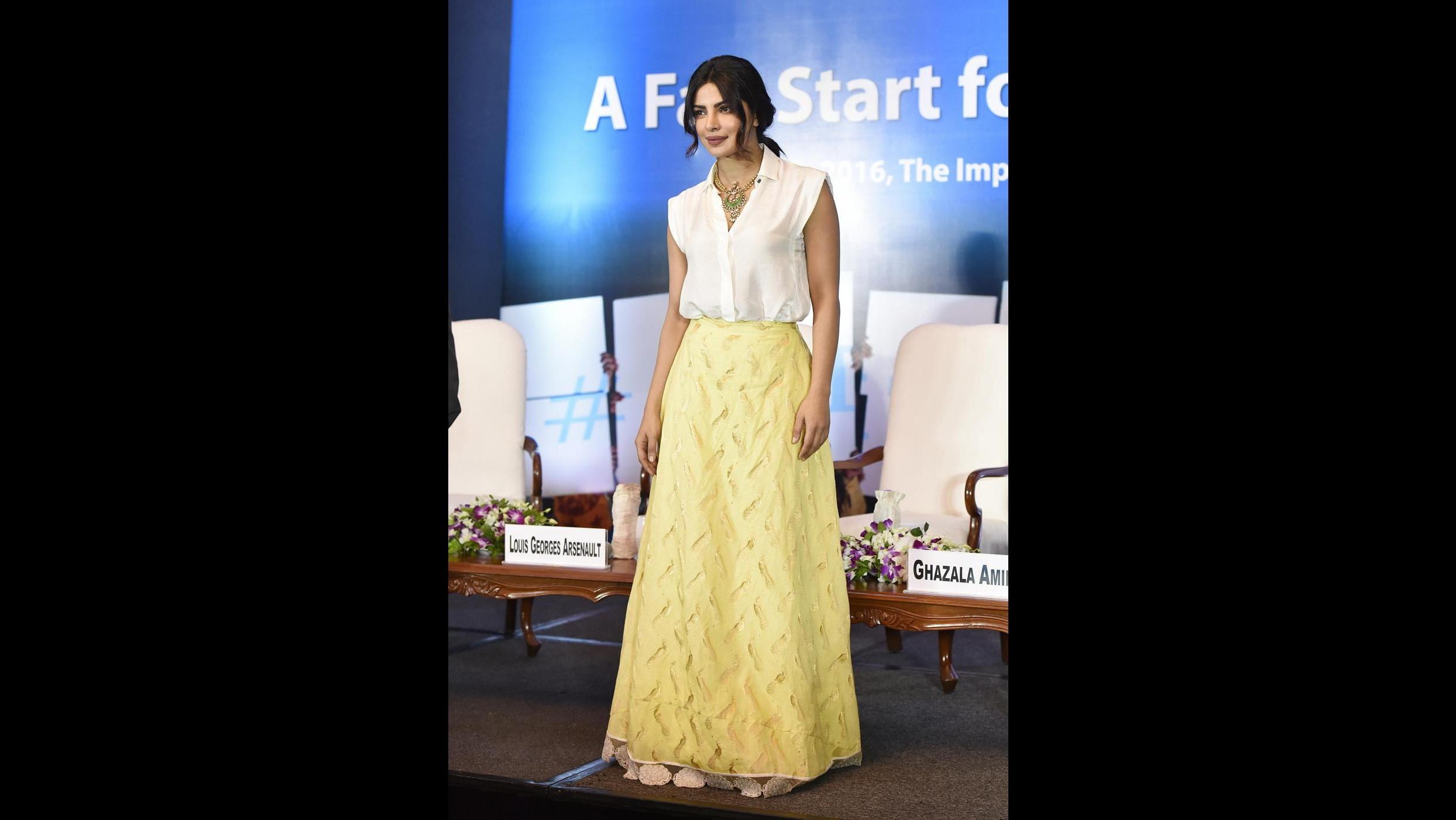 FOTO La star di Bollywood Priyanka Chopra ambasciatrice Unicef