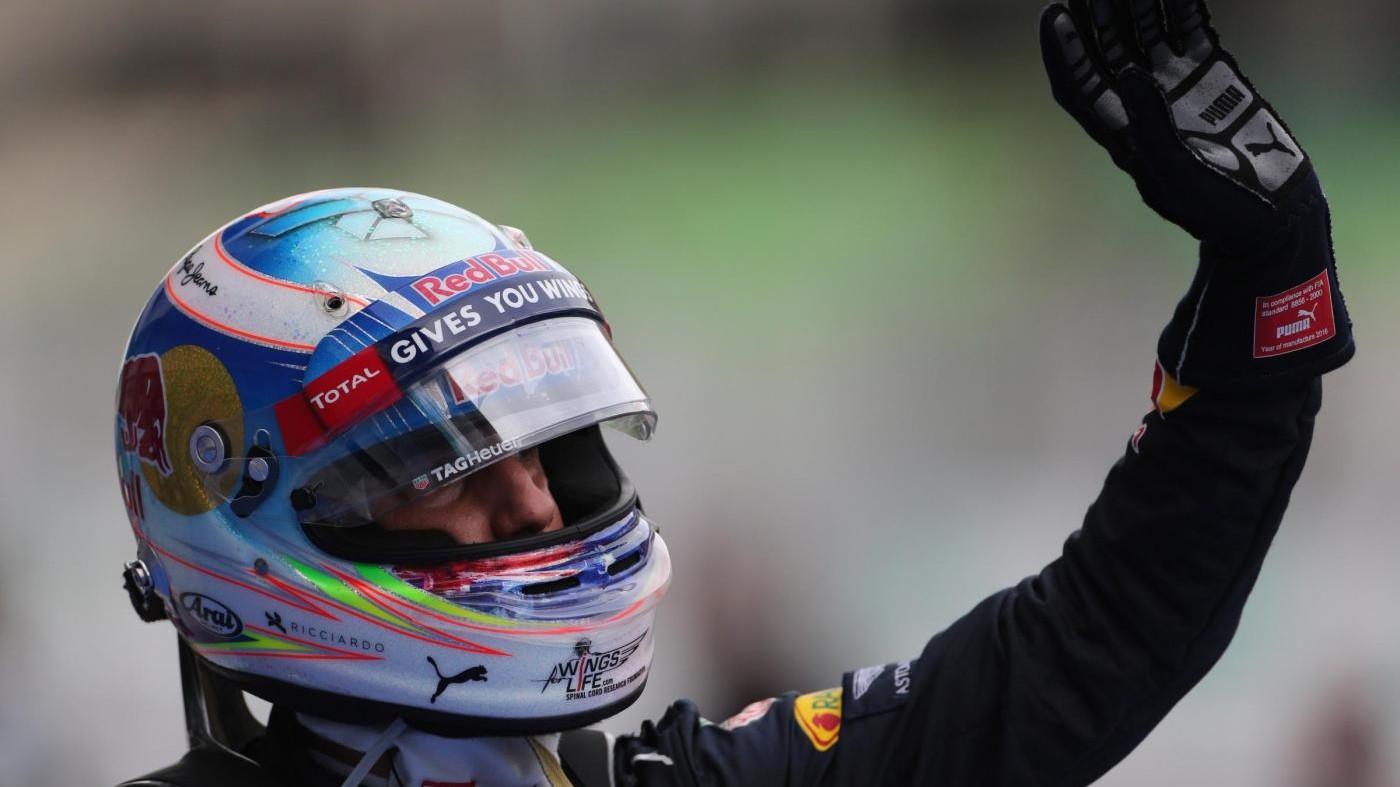 F1, Ricciardo su Red Bull trionfa a Sepang, Raikkonen quarto