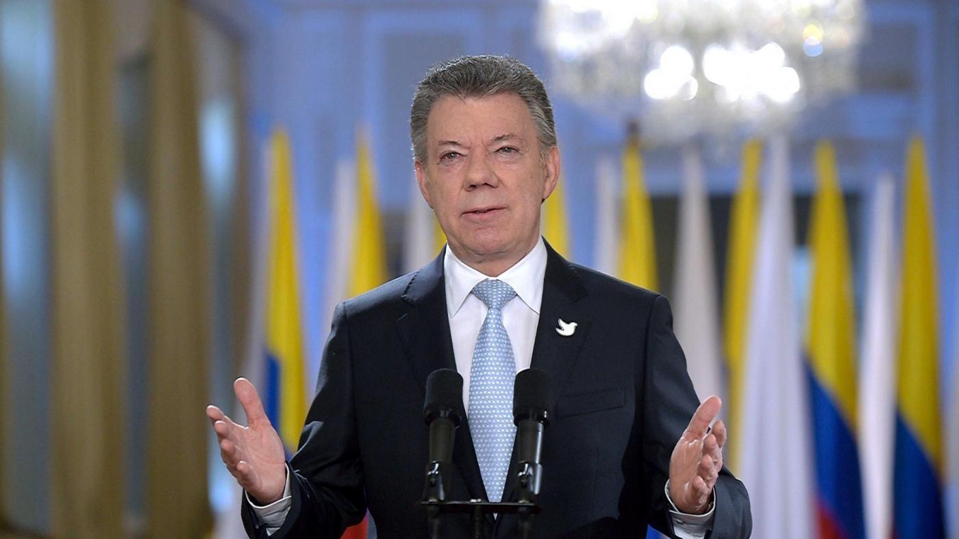 Nobel Pace a presidente Colombia Santos per accordo con le Farc