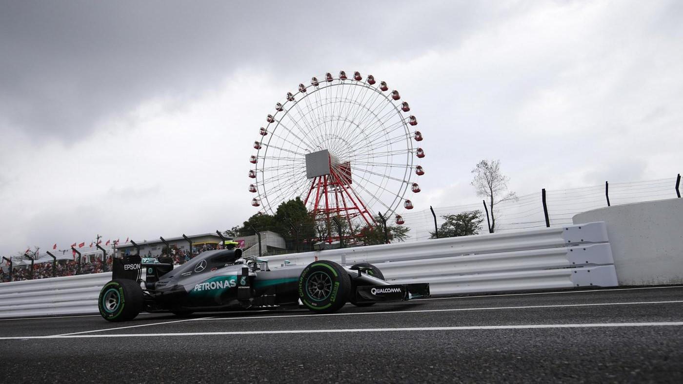 Gp Giappone, Rosberg vince e allunga. Ferrari giù dal podio