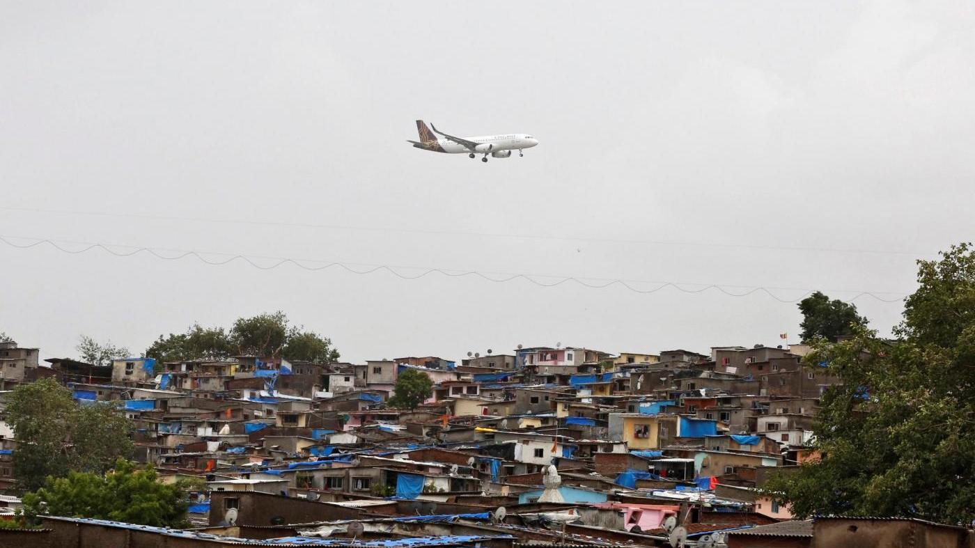 Perdita radioattiva all'aeroporto internazionale Nuova Delhi
