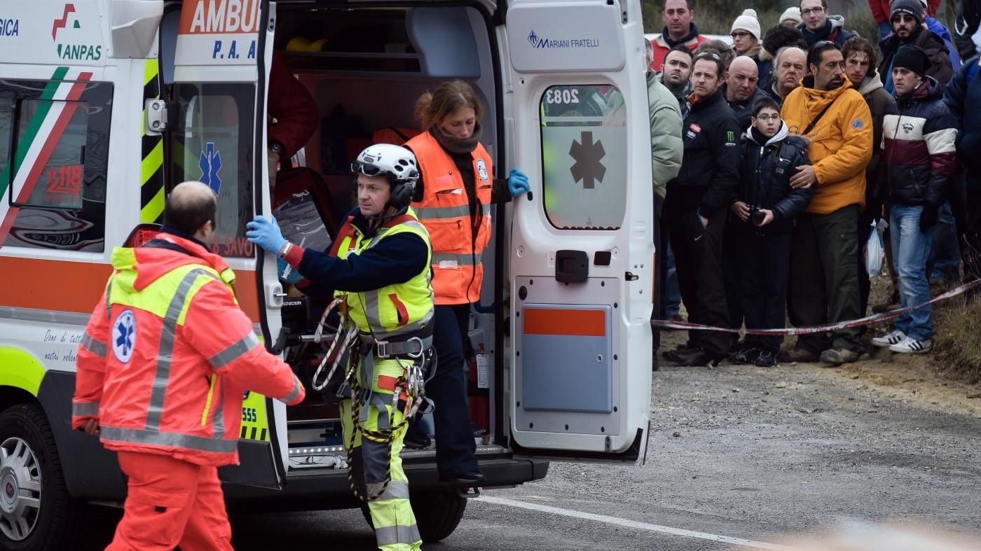 Auto uccide commissario gara durante Rally di San Marino