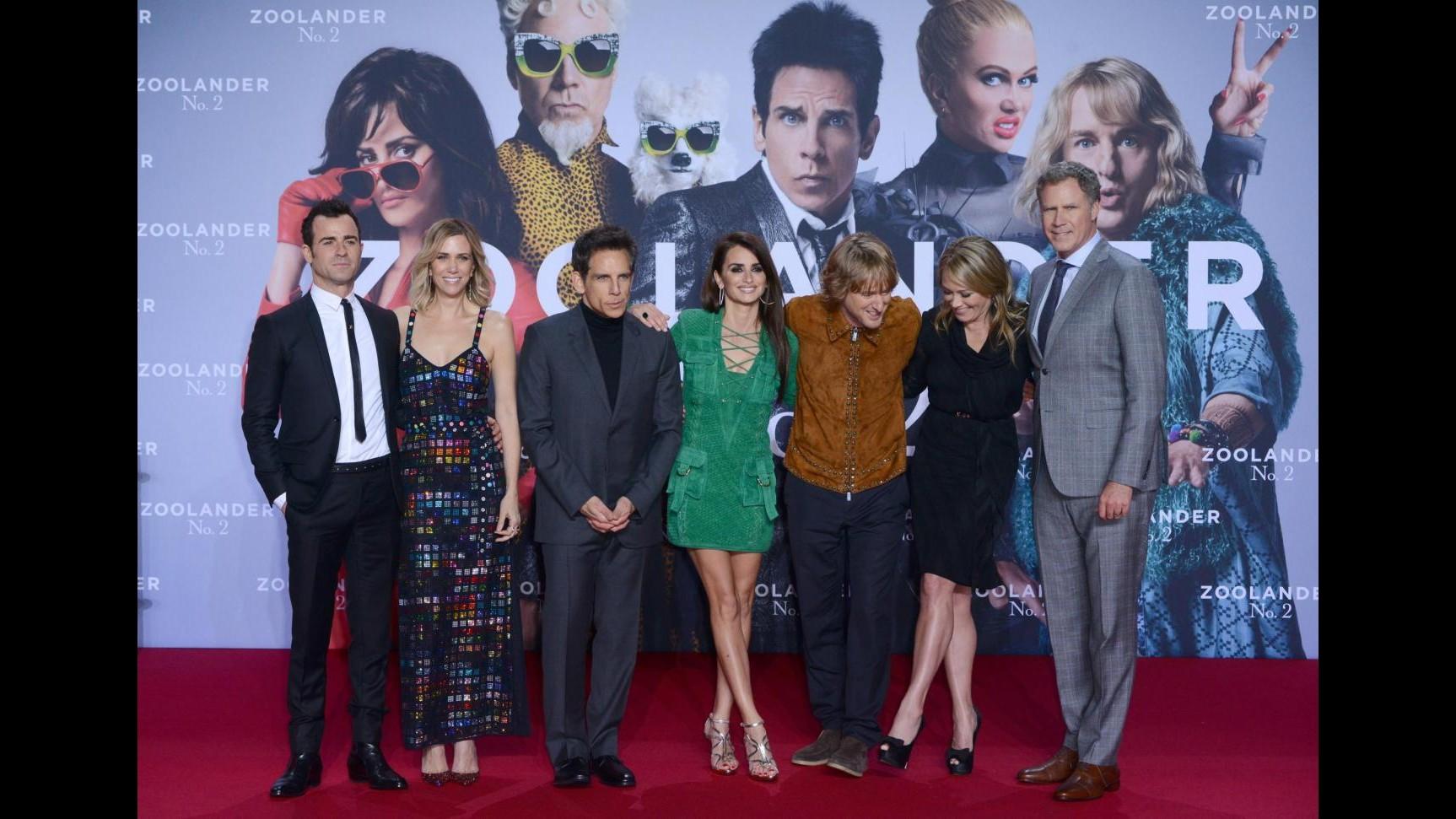 'Zoolander 2' arriva a Berlino: cast sul red carpet