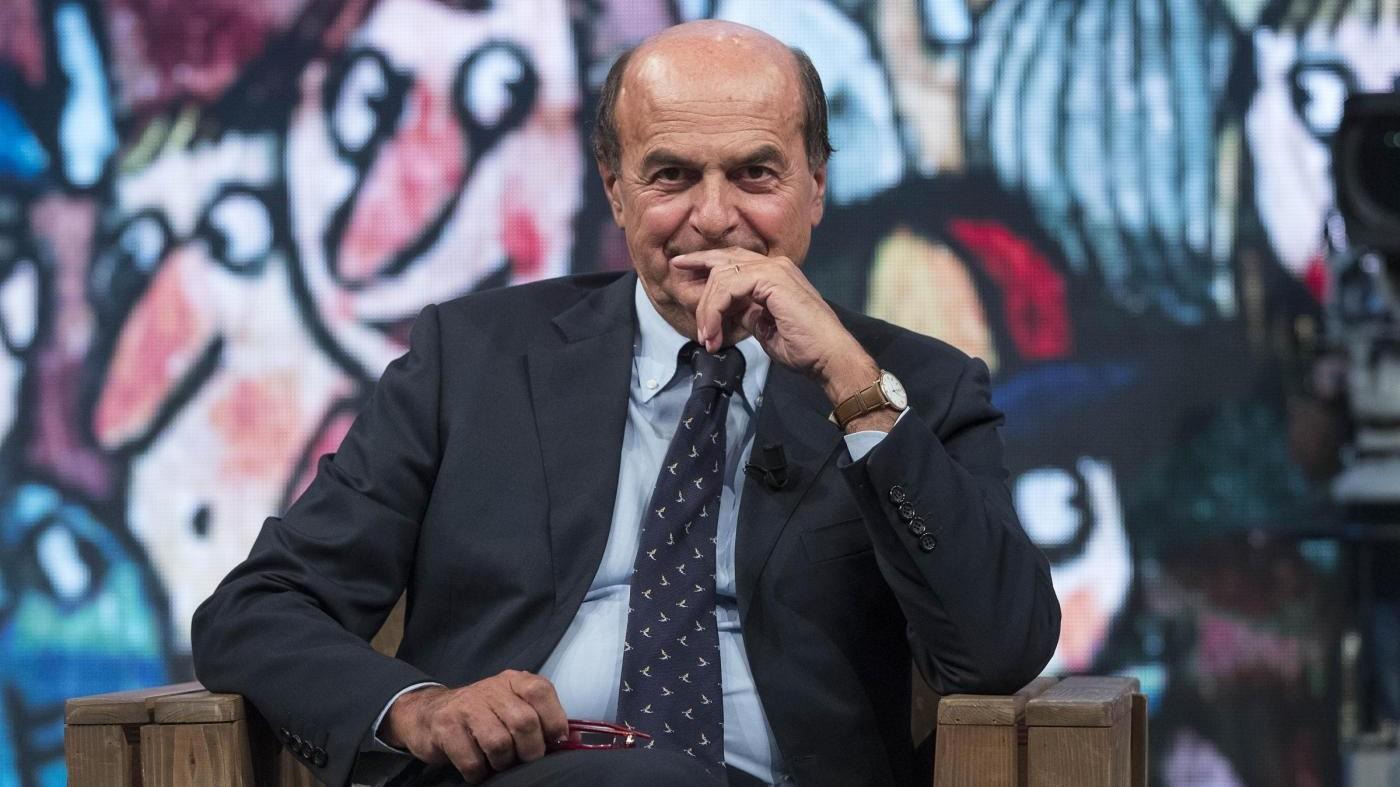 Bersani: Amnistia su contanti? Sembra un'idea di Corona