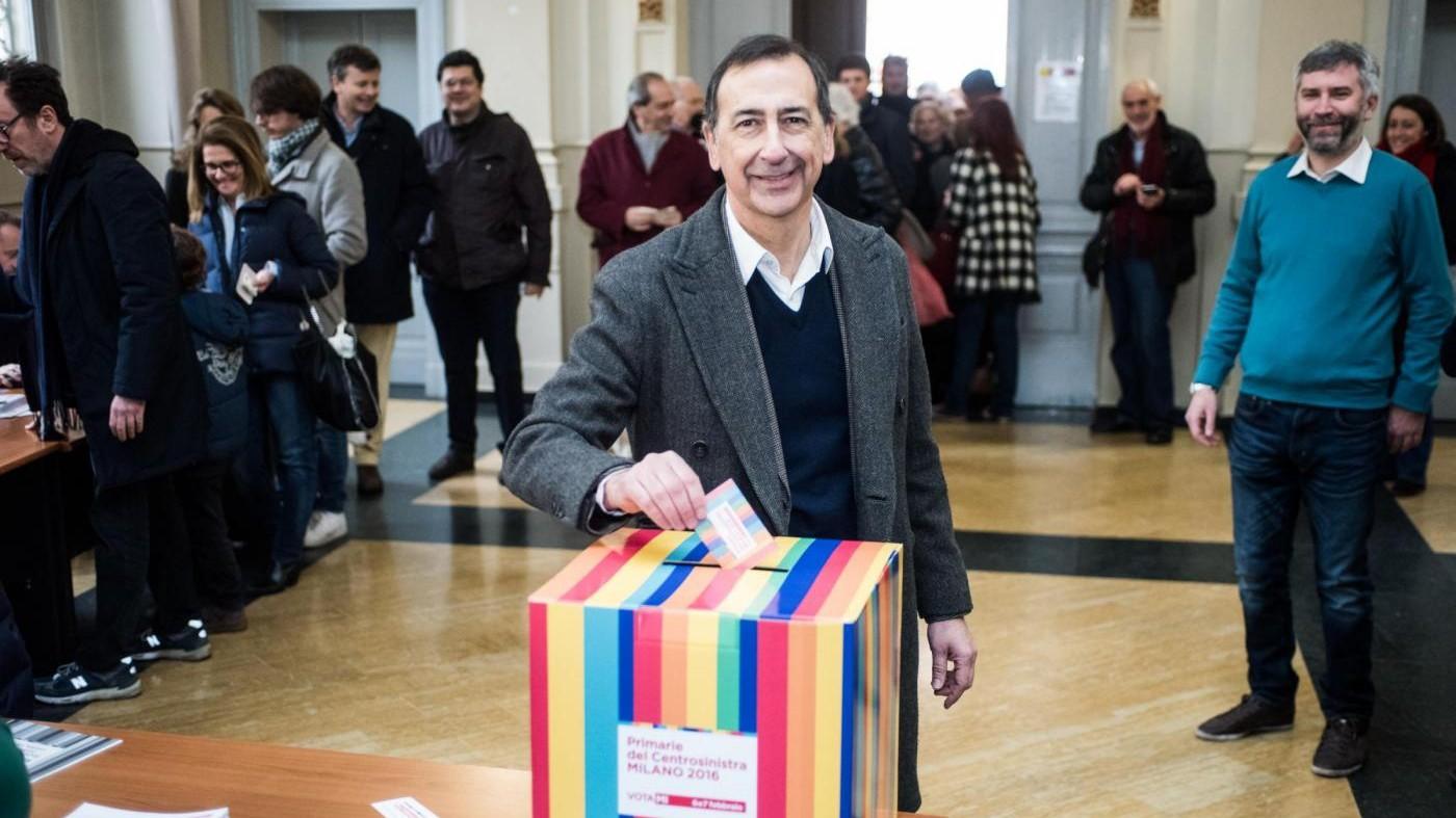 Primarie Milano, i candidati al voto