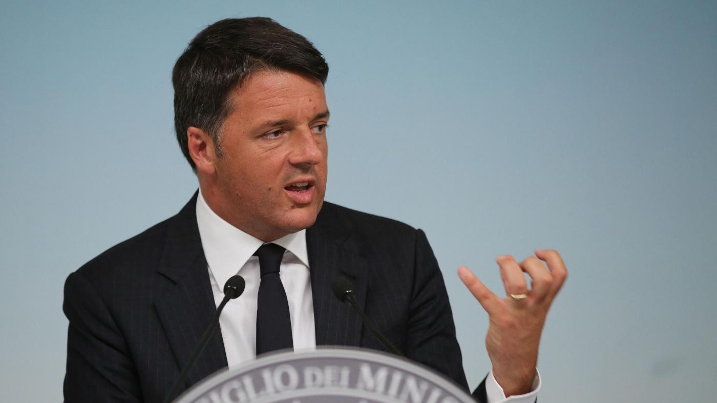 L'annuncio di Renzi: Più soldi a chi prende la pensione minima