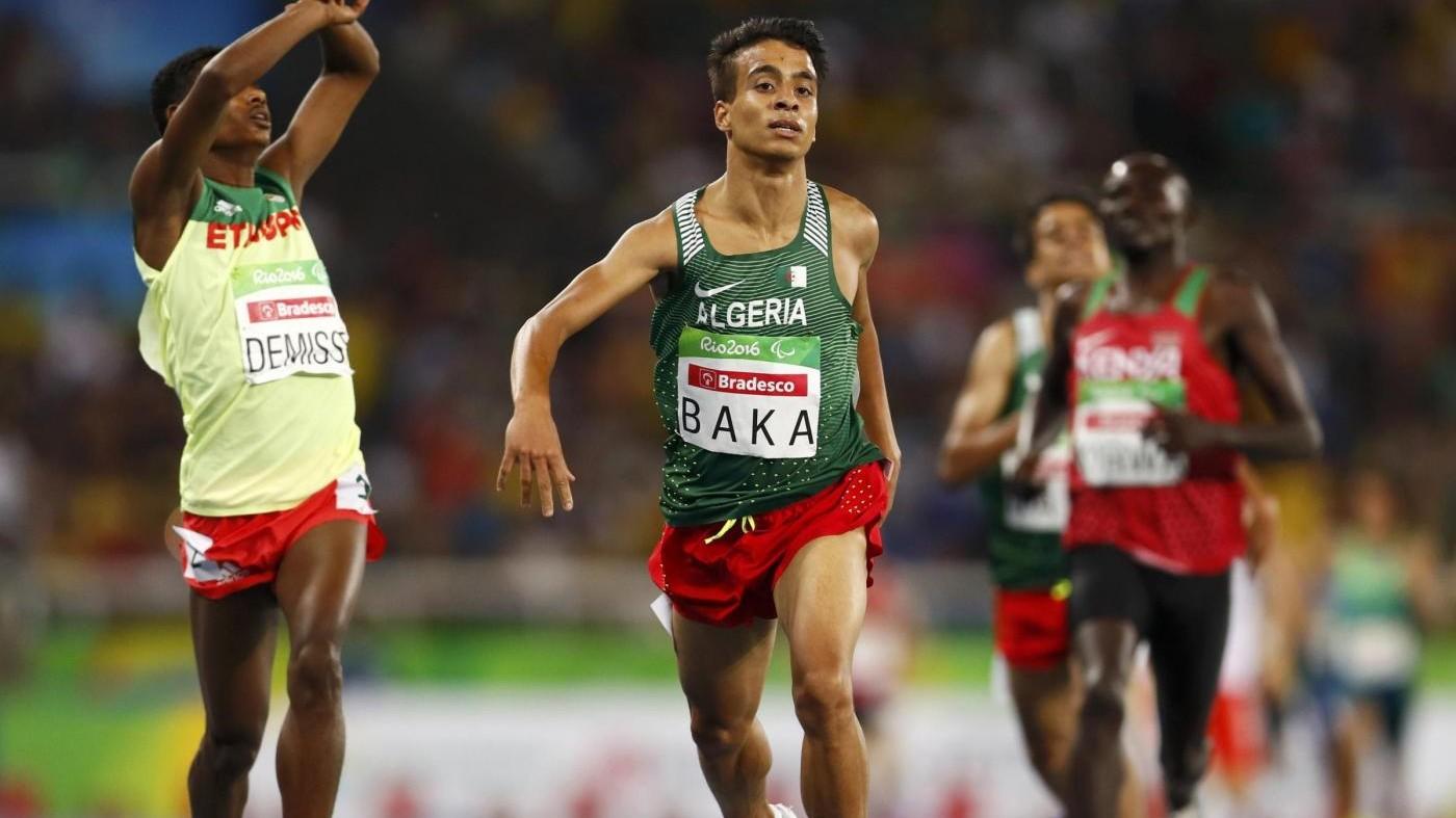 Paralimpiadi, impresa di Baka: 1500, più veloci che all'Olimpiade