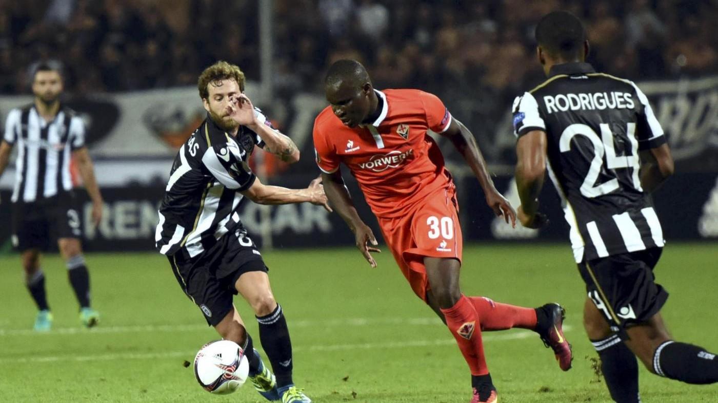 Europa League, Fiorentina non sfonda in Grecia: 0-0 con Paok