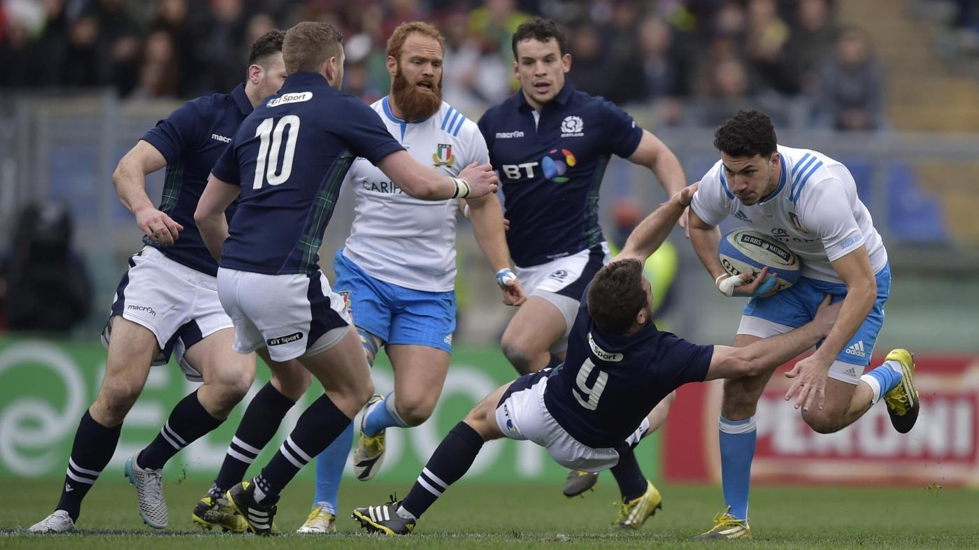 Sei Nazioni, Italia Scozia 20-36