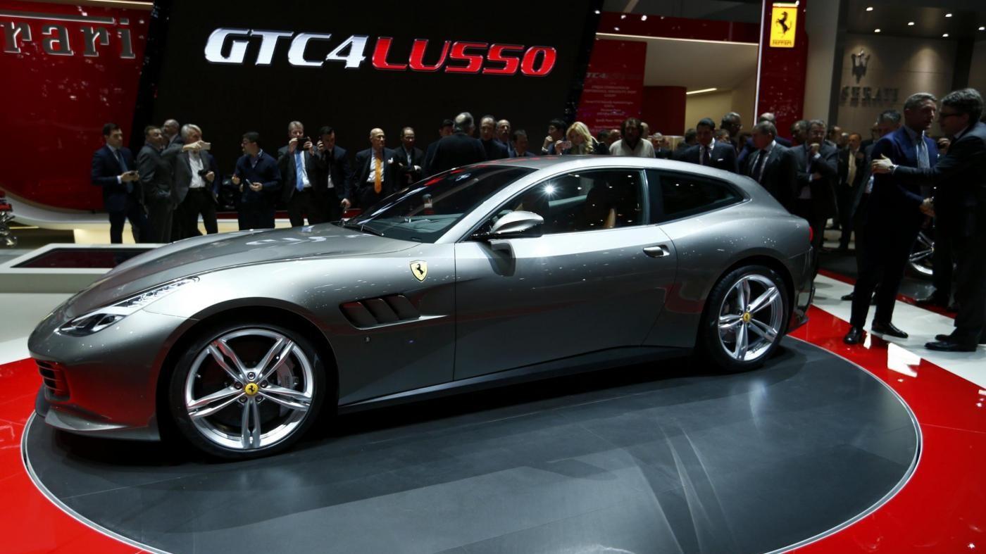 FCA svela Ferrari GTC4  e SUV Levante di Maserati