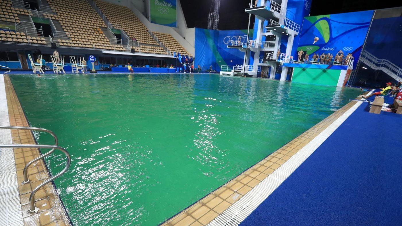 Rio, da caso Lochte a piscine verdi: il peggio dei Giochi