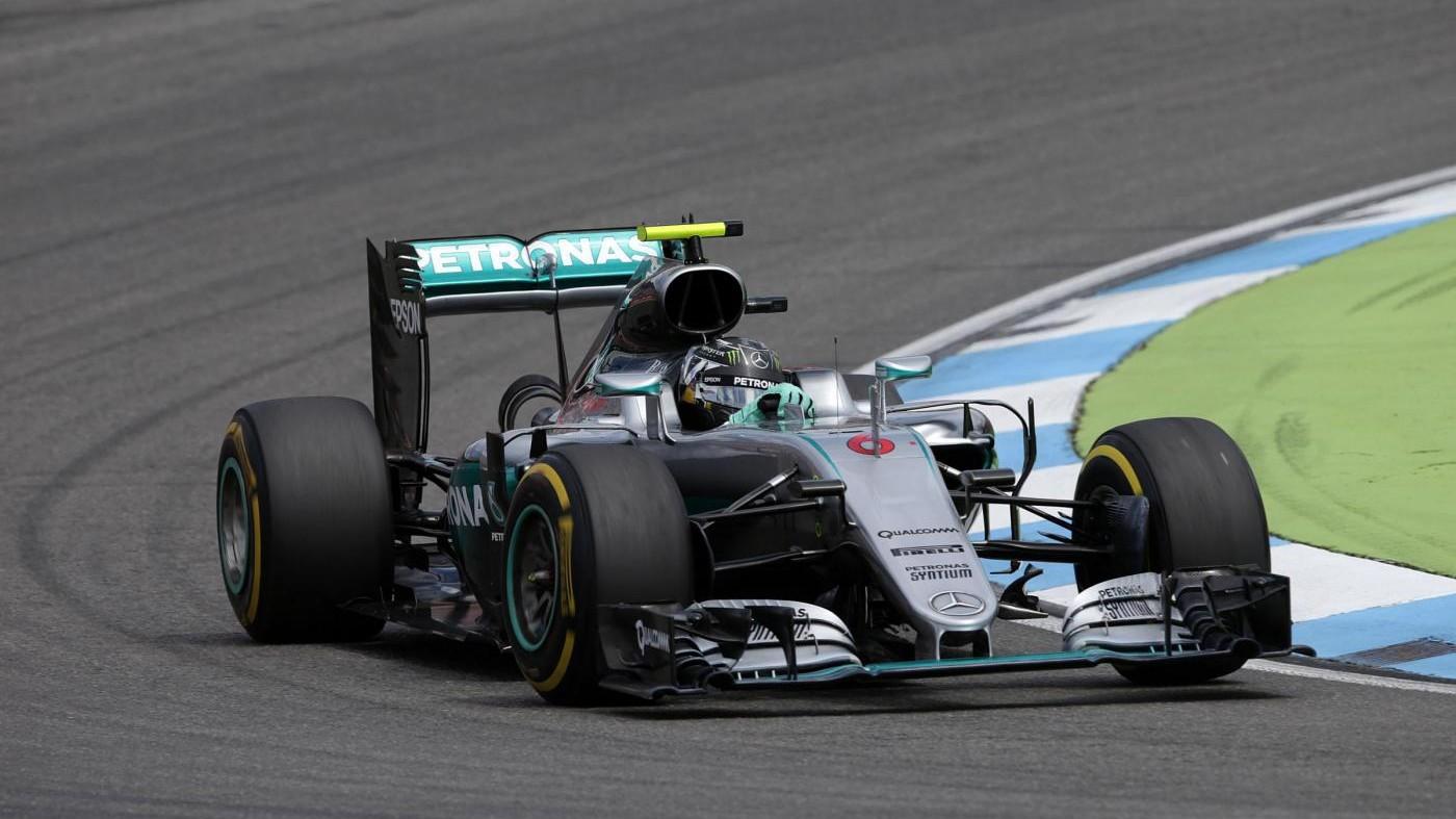 Gp Belgio, Rosberg domina prime libere: 3° Raikkonen e 5° Vettel