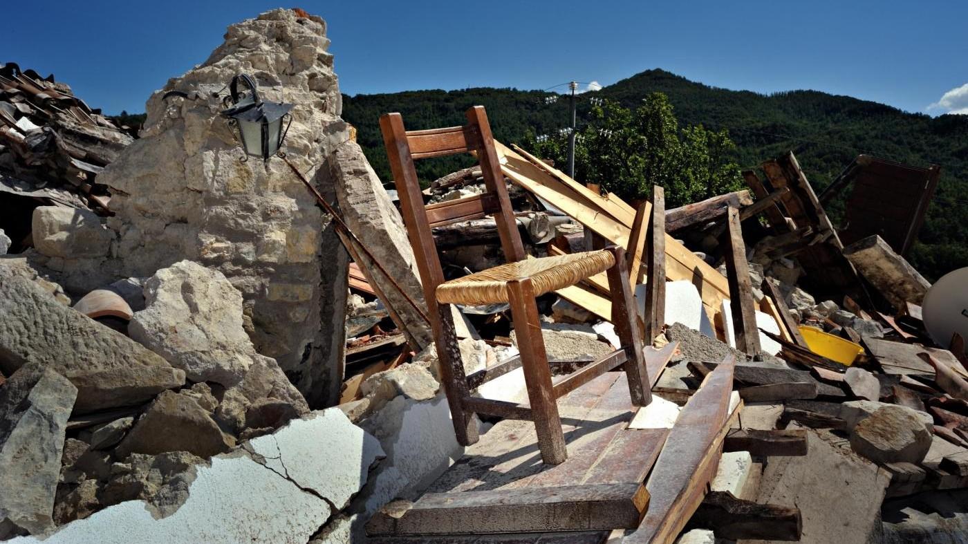 Terremoto, parola agli architetti: Servirebbero 300 miliardi