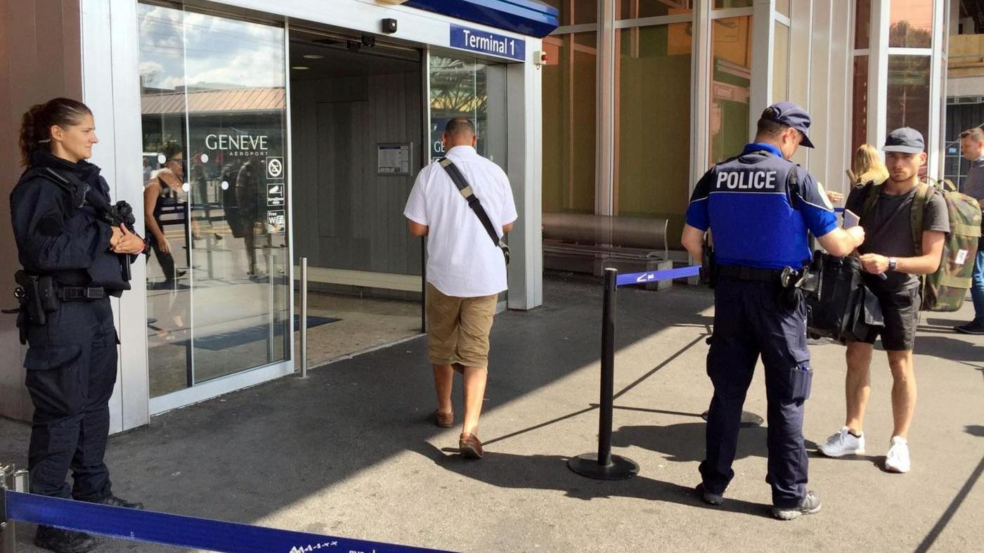 Ginevra, falso allarme bomba: era donna che voleva bloccare partenza marito