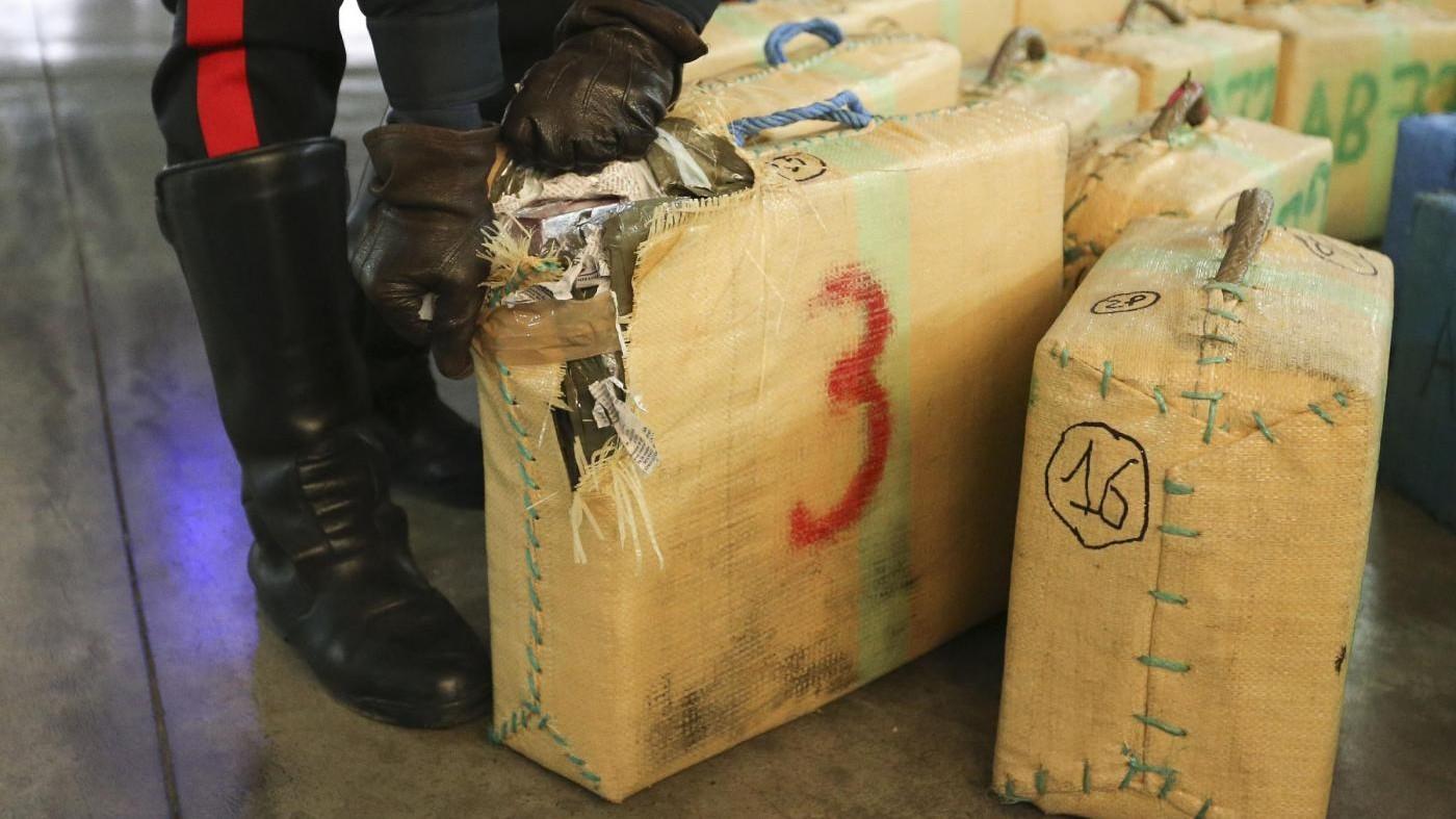 Palermo, sequestrati oltre 860 chili di hashish: 6 arresti