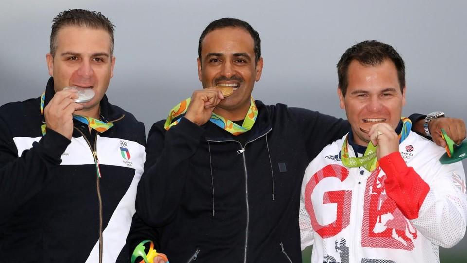 Rio, tiro a volo: Innocenti vince l'argento nel double trap