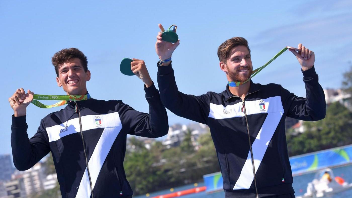 Rio, canottaggio: bronzo per il duo Abagnale-Di Costanzo