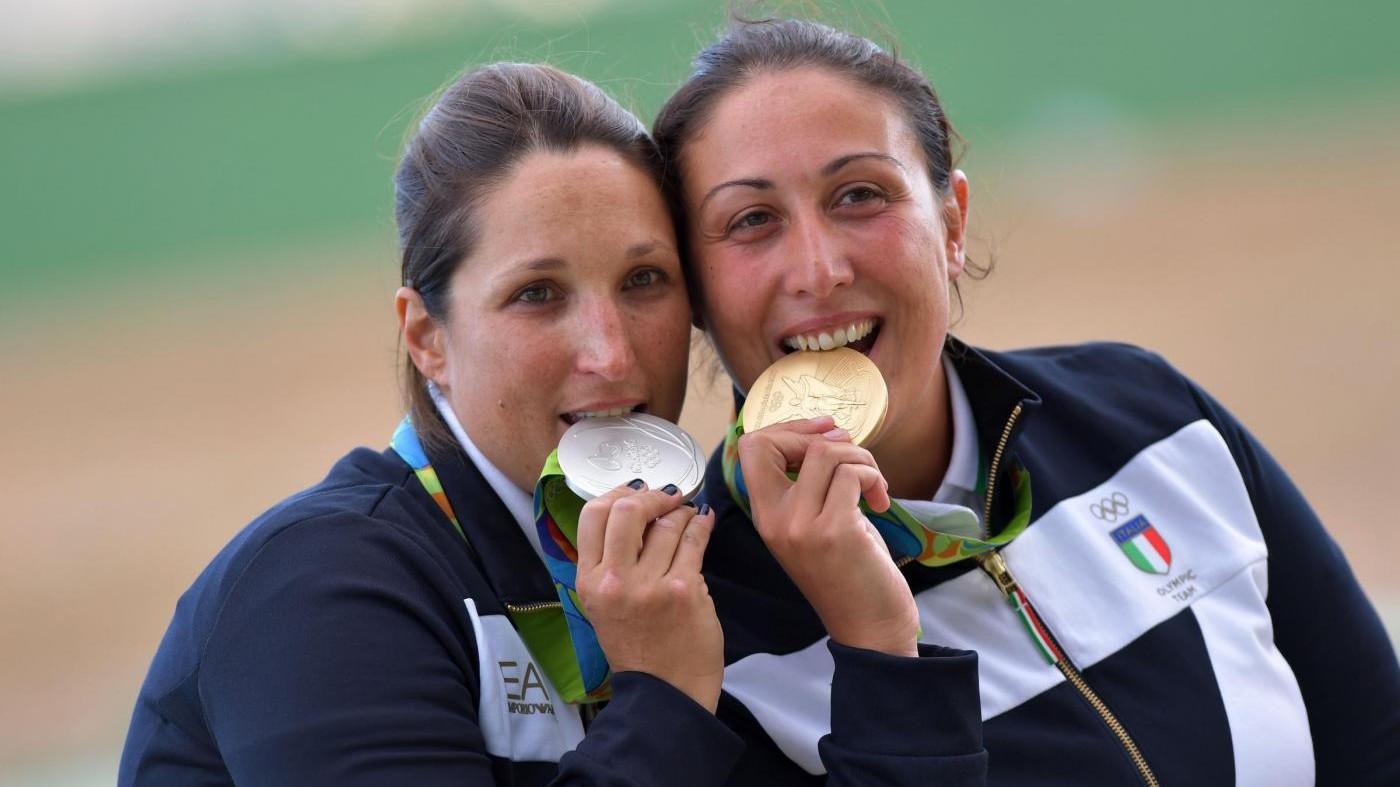 Rio 2016, oro e argento italiani nello skeet femminile