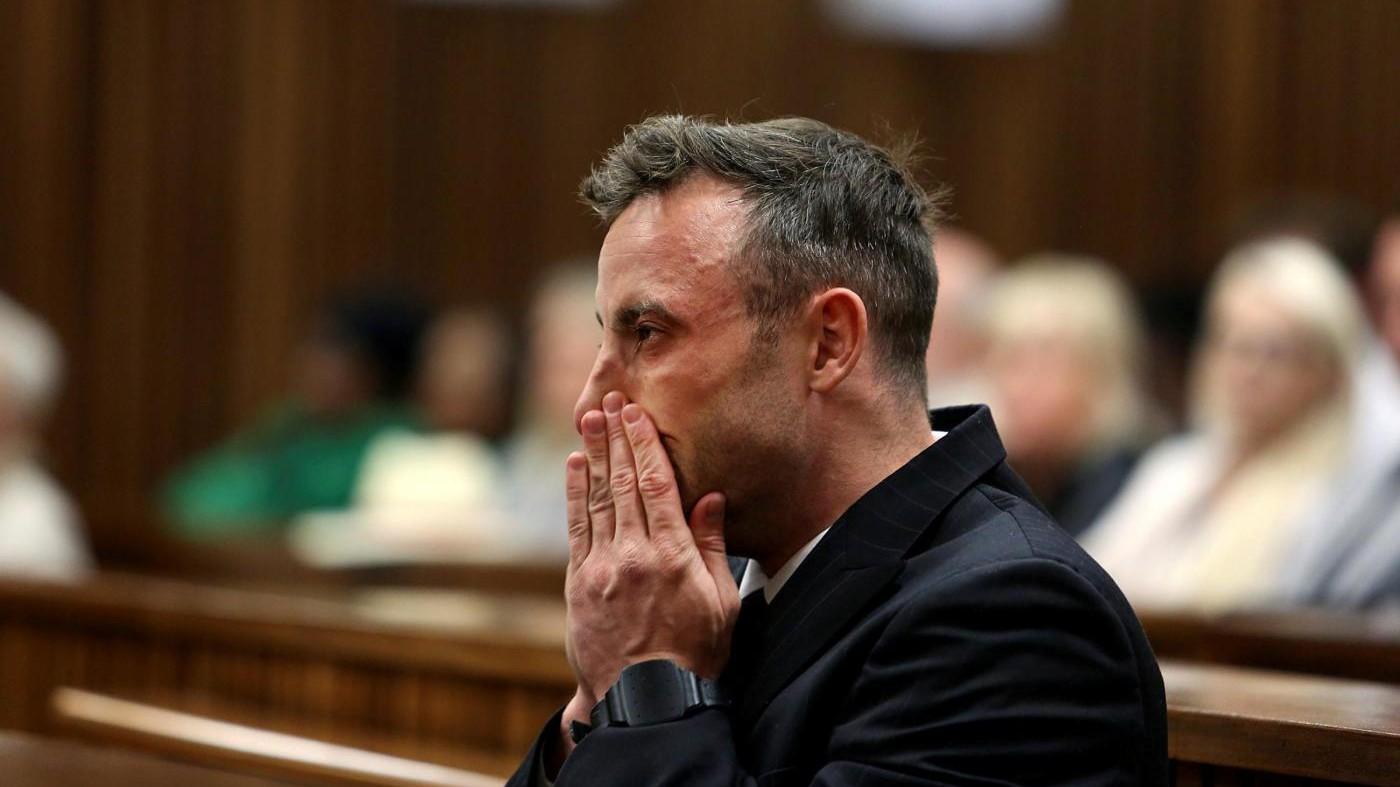 Pistorius, media: Posto sotto sorveglianza anti-suicidio