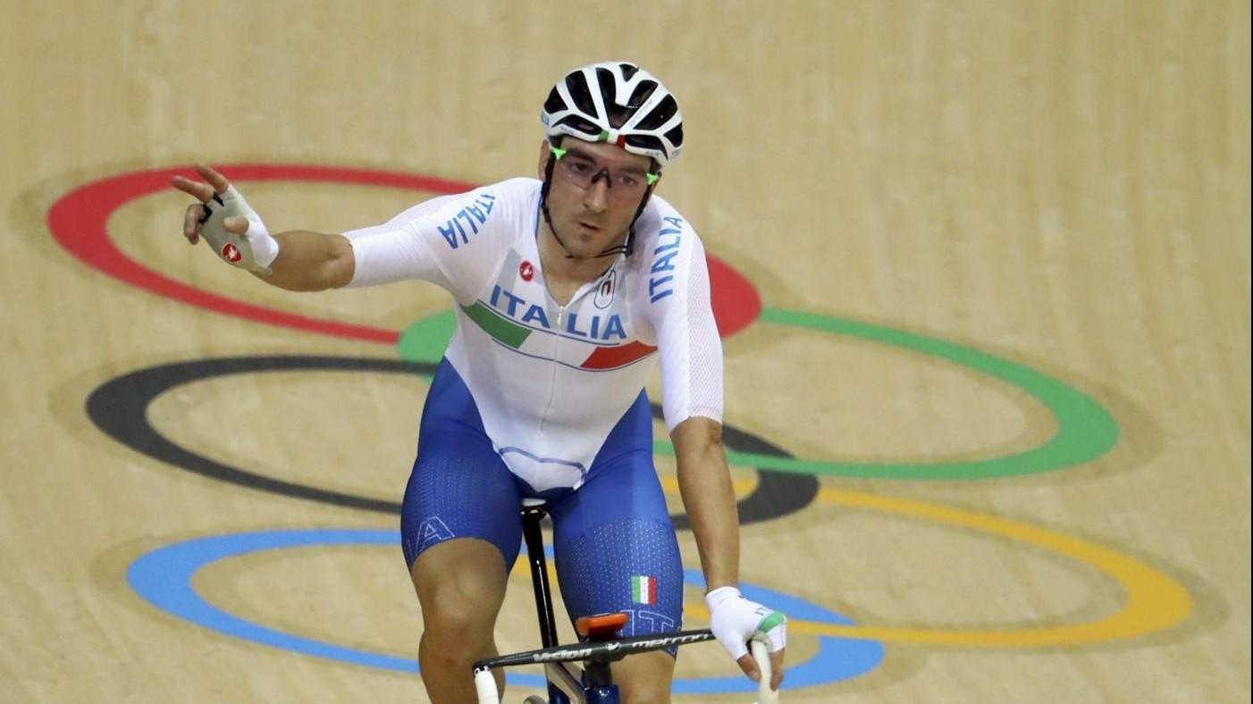 Rio, ciclismo pista: Viviani ancora 1° dopo penultima prova omnium