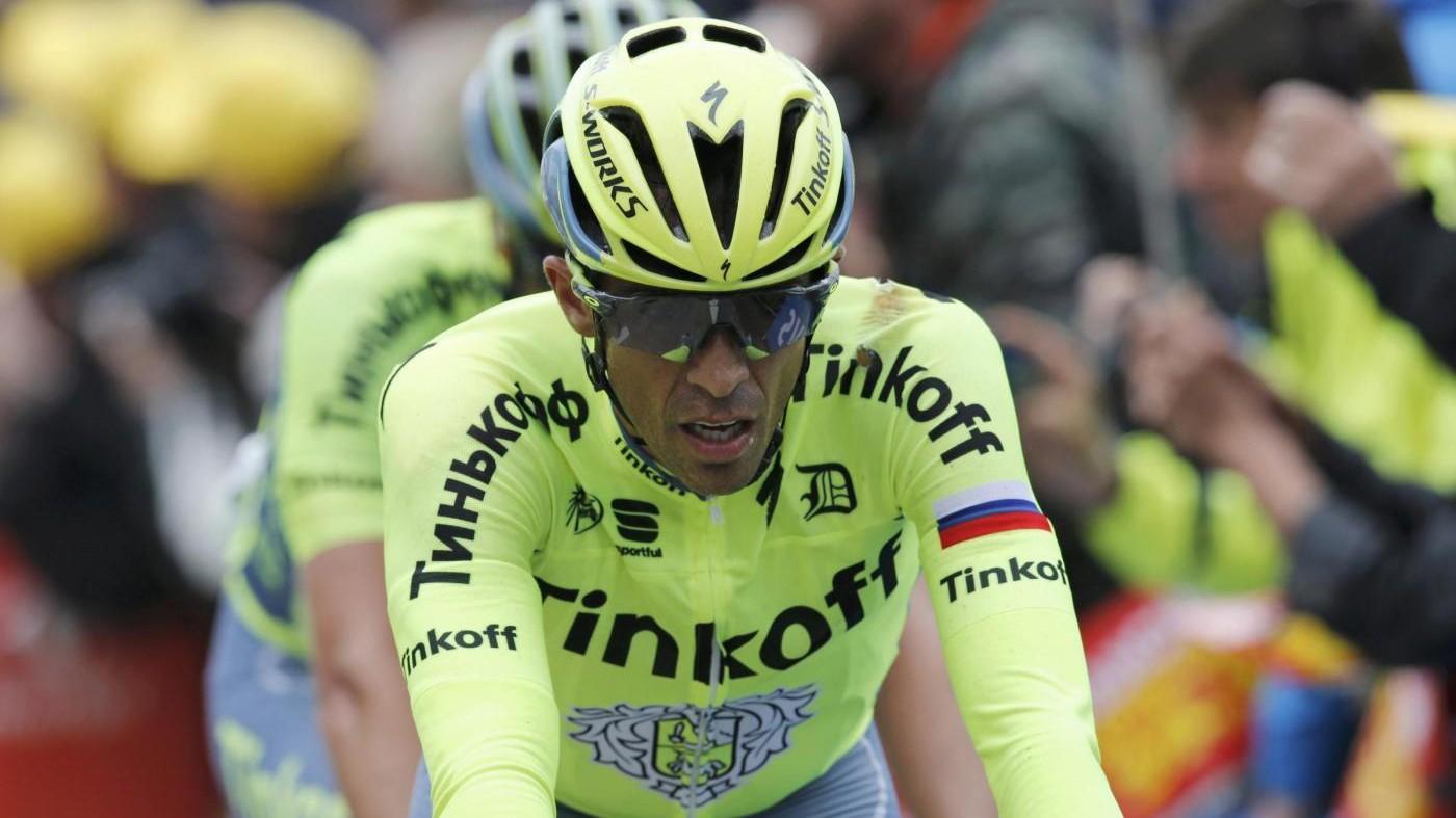 Contador saluta il Tour de France: arriva il ritiro
