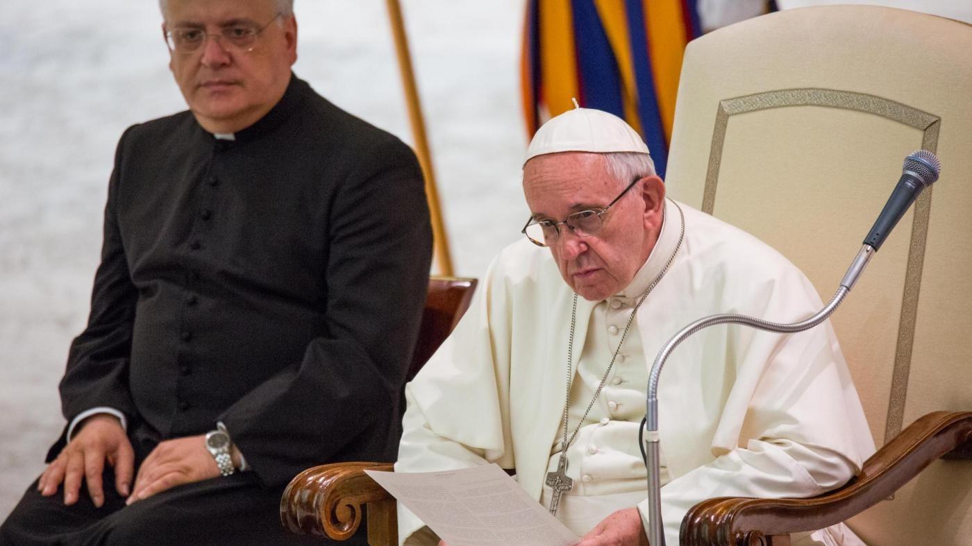 Nizza, Papa: Strage ha falciato tanti bambini, basta sangue
