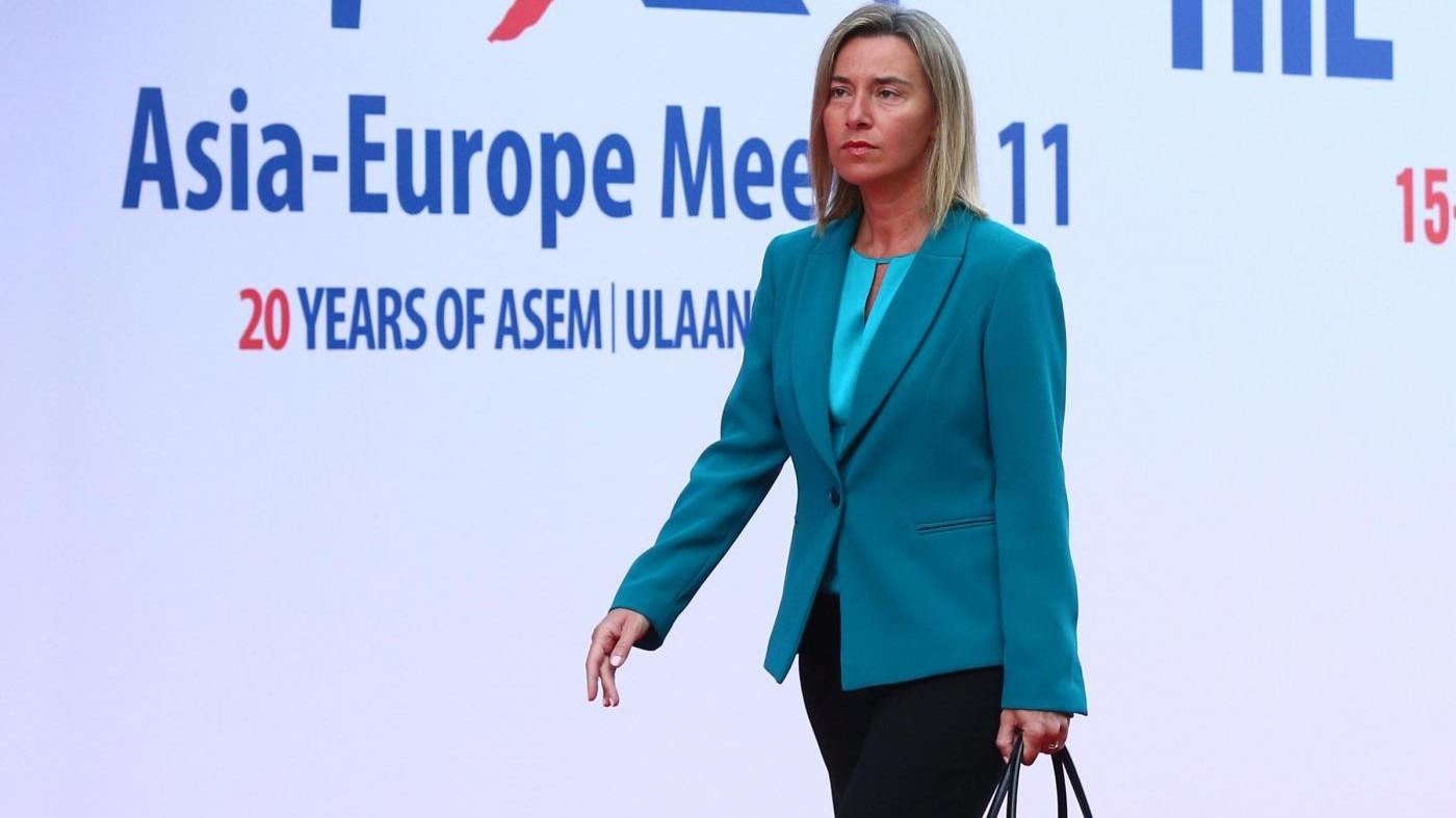 Turchia, Mogherini: Introducendo pena di morte non si diventa membro Ue