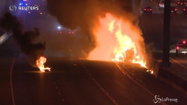 Canada: collisione sulla Highway 401 di Toronto