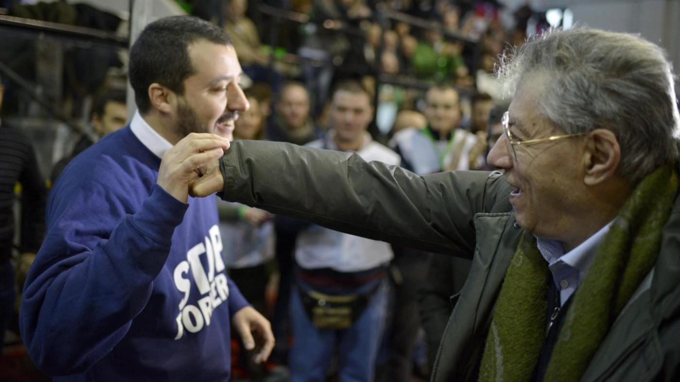 Comunali, Bossi attacca Salvini: E' tutta colpa sua