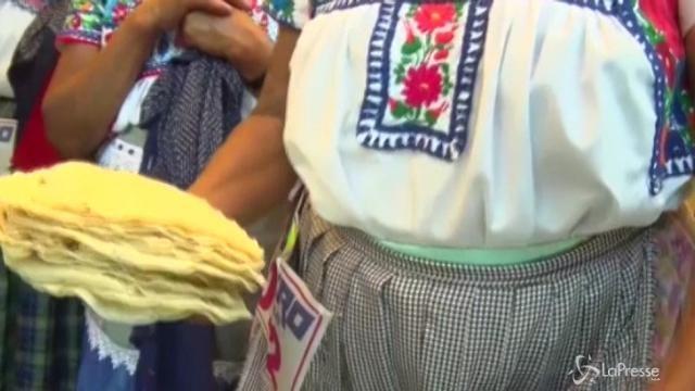 In Messico la gara della tortilla
