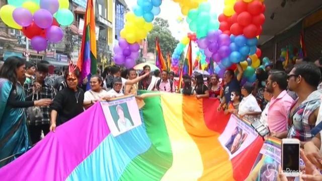 A Kathmandu esplode l'orgoglio LGBT