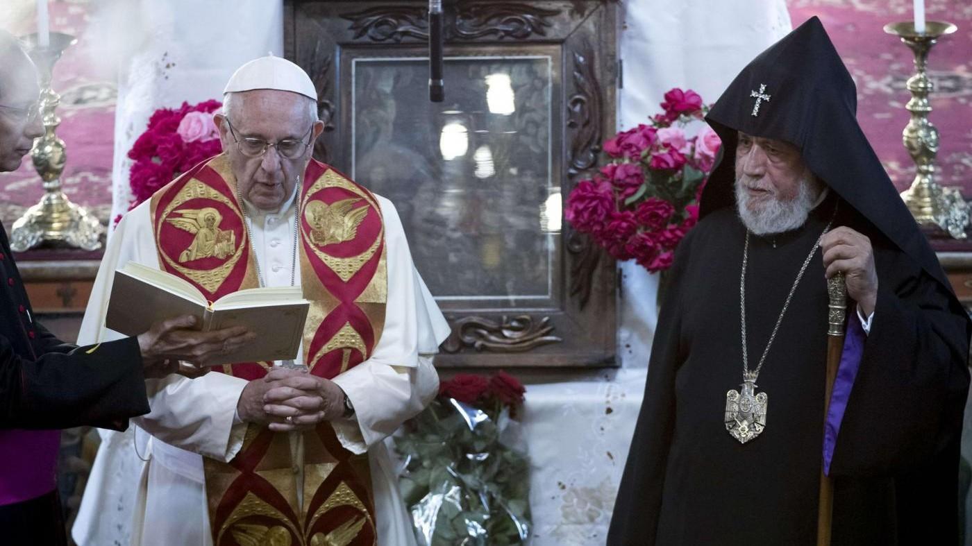 Il Papa in Armenia nella città sacra