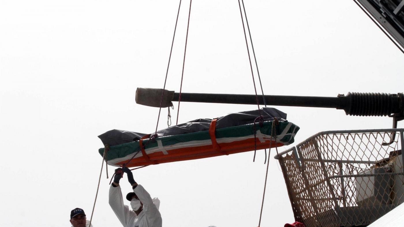 Recuperate salme di sei migranti naufragati nel 2015