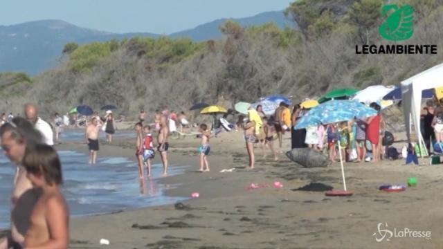 """VIDEO L'allarme di Legambiente: """"Il mare italiano è malato"""""""