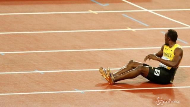 VIDEO Addio amaro per Bolt, niente oro e infortunio nella staffetta