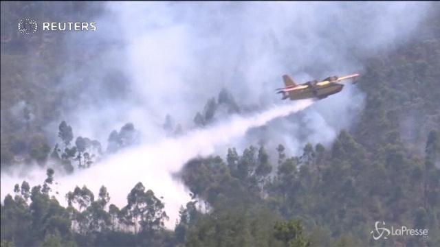 Ancora roghi in Portogallo: in fiamme Vila de Rei